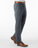 Ballin Pants - Soho Super 120's 4 Harness Serge - Slate Blue