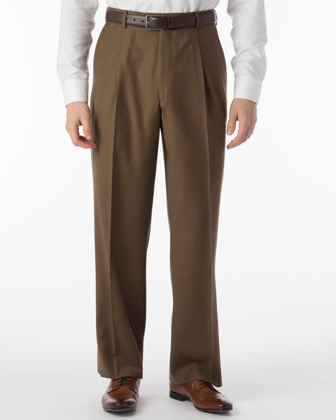 Ballin Pants - Manchester Super 120's 4 Harness Serge - Tabacco