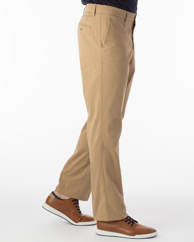 Ballin Pants - Atwater True Khaki Pima Twill - British Tan