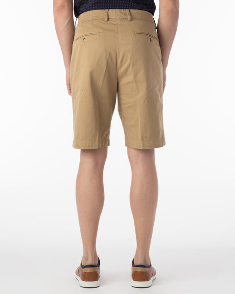 Ballin Short- Drummond Pima Twill - British Tan