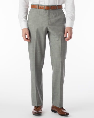 Ballin Pants - Dunhill Super 120's Sharkskin - Black/White