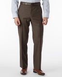 Ballin Pants - Dunhill Super 120's Sharkskin - Chestnut