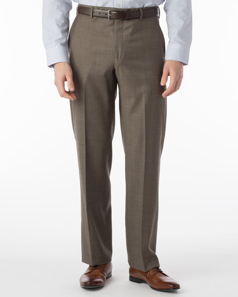 Ballin Pants - Dunhill Super 120's Sharkskin - Light Brown