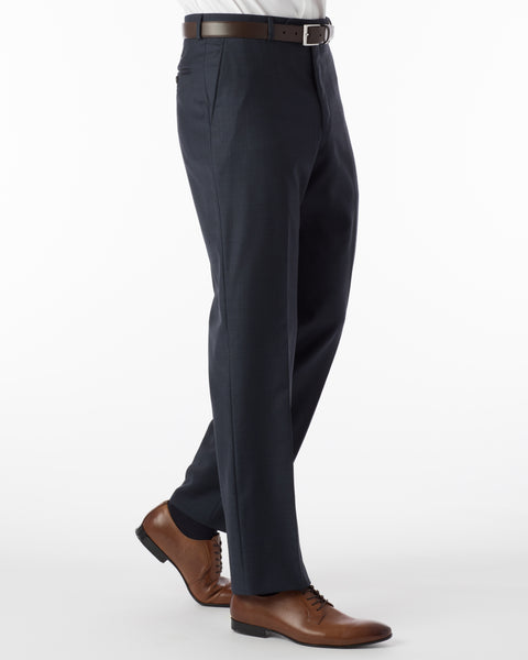 Ballin Pants - Dunhill Super 120's Sharkskin - Navy