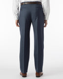 Ballin Pants - Dunhill Super 120's Sharkskin - New Navy