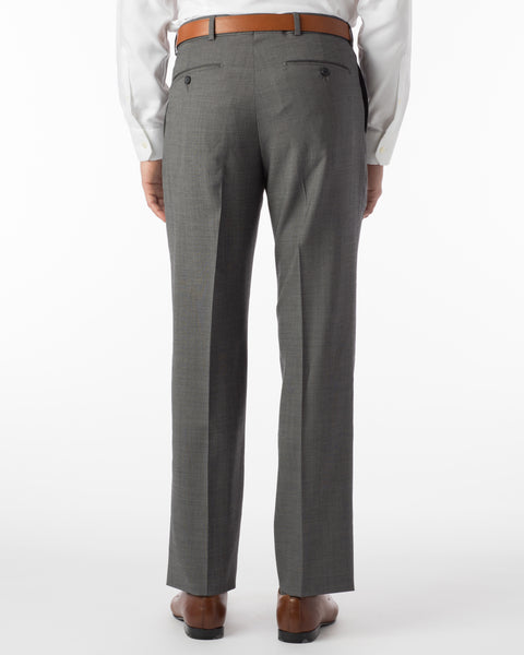 Ballin Pants - Soho Super 120's Sharkskin - Mid Grey