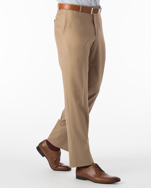 Ballin Pants - Soho Super 120's Sharkskin - Honey