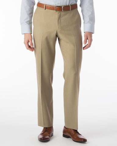 Ballin Pants - Soho Super 120's Sharkskin - Camel