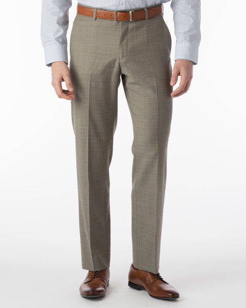 Ballin Pants - Soho Super 120's Sharkskin - British Tan