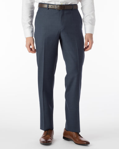 Ballin Pants - Soho Super 120's Sharkskin - New Navy