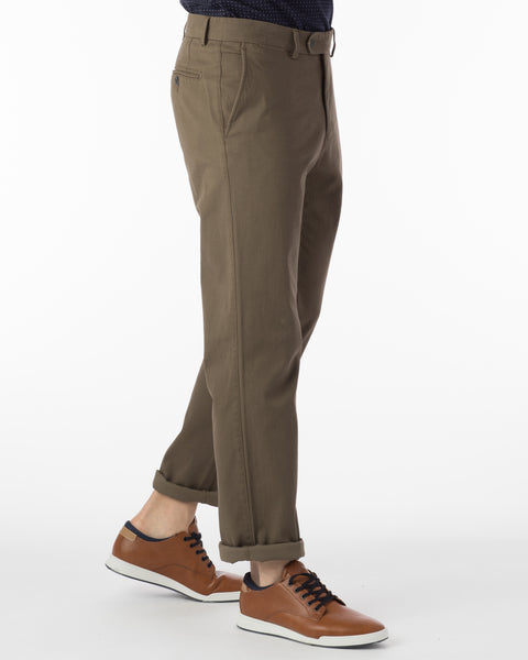 Ballin Pants - Atwater Pima Twill - Fatigue