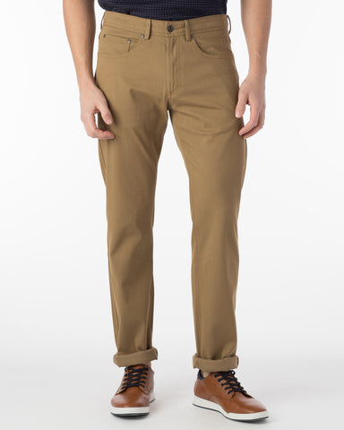 Ballin Pants - Crescent Pima Twill - British Tan