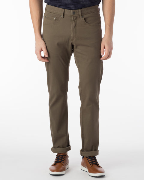 Ballin Pants - Crescent Pima Twill - Fatigue