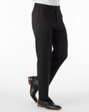 Ballin Pants - Houston Gabardine Loro Piana - Black
