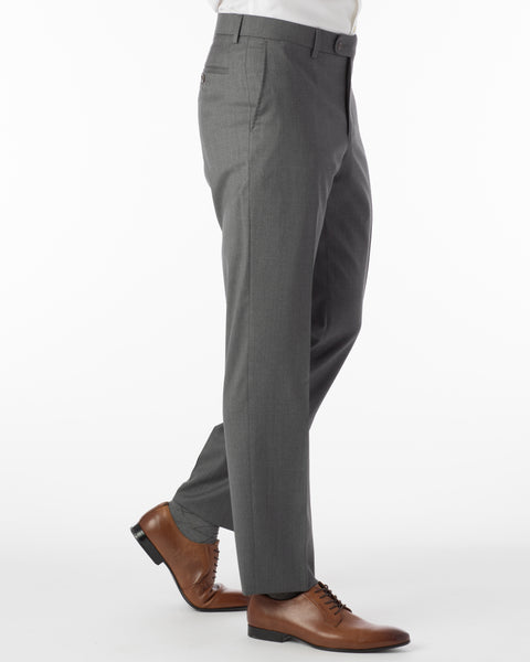 Ballin Pants - Houston Gabardine Loro Piana - Grey