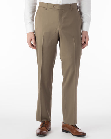 Ballin Pants - Houston Gabardine Loro Piana - British Tan