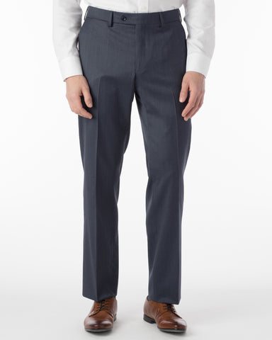 Ballin Pants - Houston Gabardine Loro Piana - Navy Mix