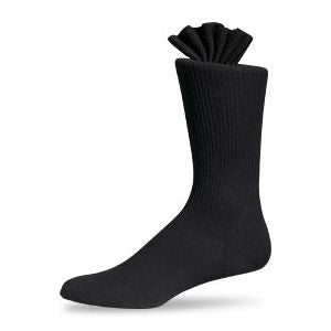 Pantherella Dress Socks - Black Mid-Calf Length