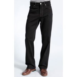 34 Heritage Charisma Jeans in Black Tonal Cashmere