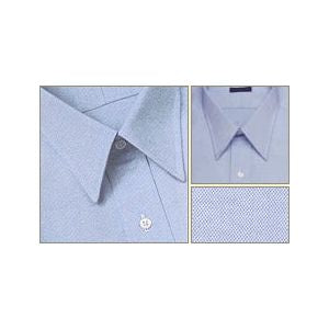 Gitman Brothers Dress Shirt - Blue Pinpoint Straight Collar