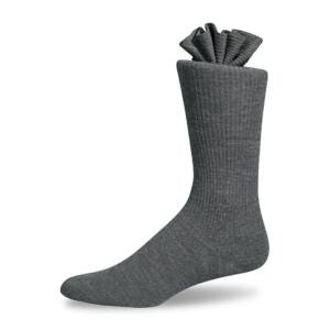 Pantherella Dress Socks - Grey Over the Calf Length