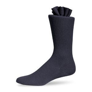 Pantherella Dress Socks - Navy Mid-Calf Length