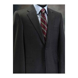 Hickey-Freeman Oxford Gray Solid Suit