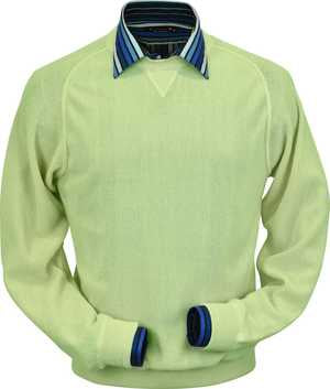 Peru Unlimited - Baby Alpaca Sweatshirt in Lime