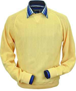 Peru Unlimited - Baby Alpaca Sweatshirt in Yellow