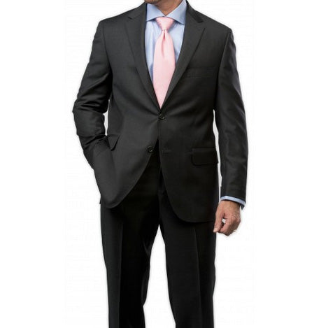 Peter Millar Justice Wool Suit in Charcoal