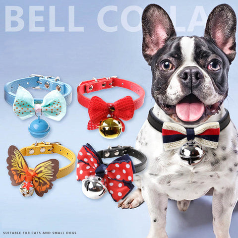 Image of Colors Dog Collar With Bell -  Sport Pet Shop