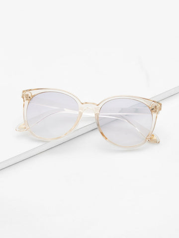 Image of Mirror Lens / Cat Eye Sunglasses