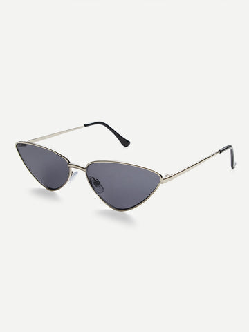 Image of Metal Frame / Cat Eye Sunglasses