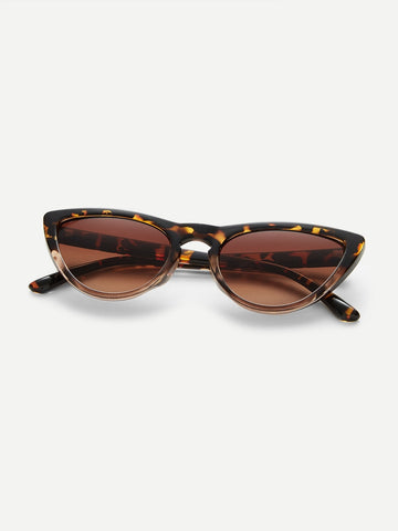 Leopard Frame / Cat Eye Sunglasses -  Sport Pet Shop