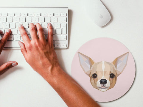 Image of Art Chihuahua Mouse Pad -  Sport Pet Shop