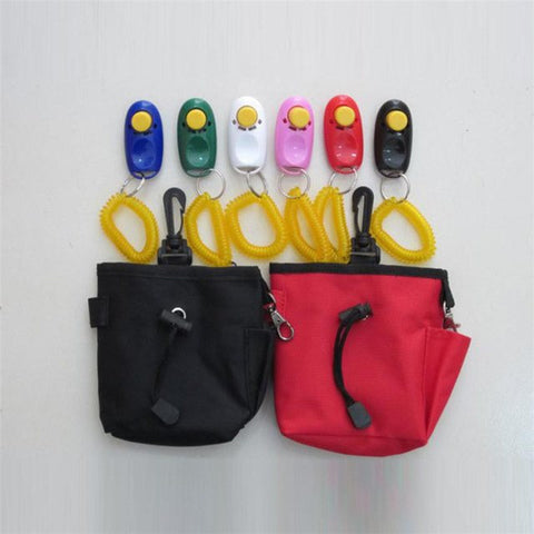 Image of Black/Red Dog Pet Training Clicker Set -  Sport Pet Shop