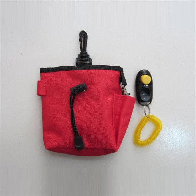 Black/Red Dog Pet Training Clicker Set -  Sport Pet Shop