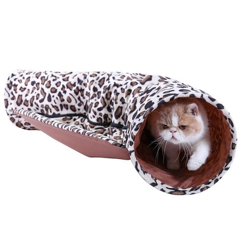 Image of Tunnel Conbine with Sleeping Bed Design -  Sport Pet Shop
