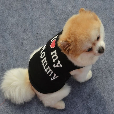 Image of Cute Dog Clothes Spring Soft T-shirt -  Sport Pet Shop