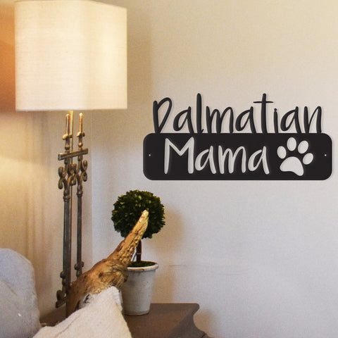 Image of Dog Mama - Metal Wall Art -  Sport Pet Shop