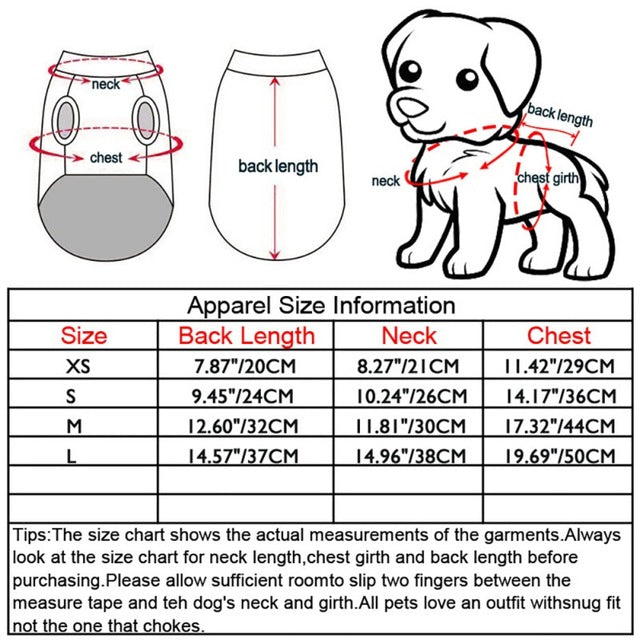 Pets Vests Spring / Summer Pectoral Muscle Bikini -  Sport Pet Shop