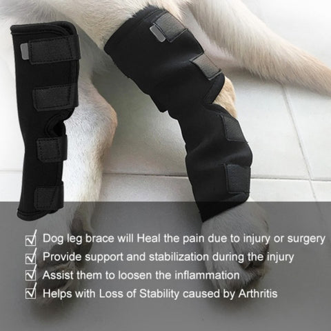 Dogs Injured Leg Protector Bandages -  Sport Pet Shop