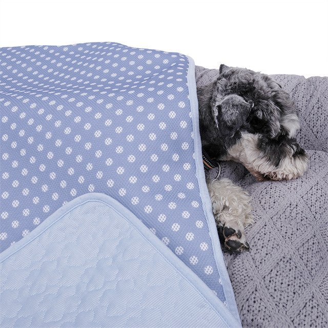 Domestic Delivery  Dog Cooling Beds Mat for Summer -  Sport Pet Shop