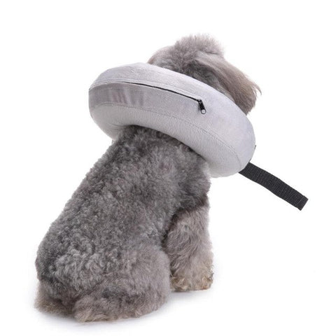 Inflatable Dog Wound Healing Collar Protective