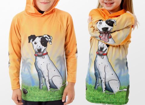 HOUND DOG Hoodie Sport Shirt -  Sport Pet Shop