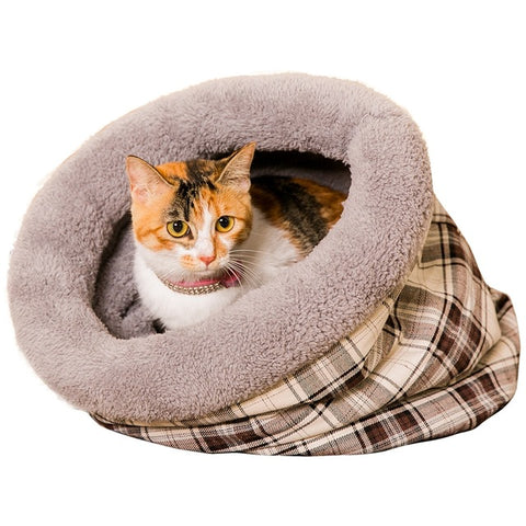 Image of New Cat Bed / Soft Material Lattice -  Sport Pet Shop