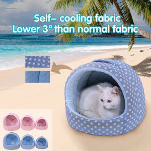 Dog / Cat Bed for Summer Self Cooling -  Sport Pet Shop