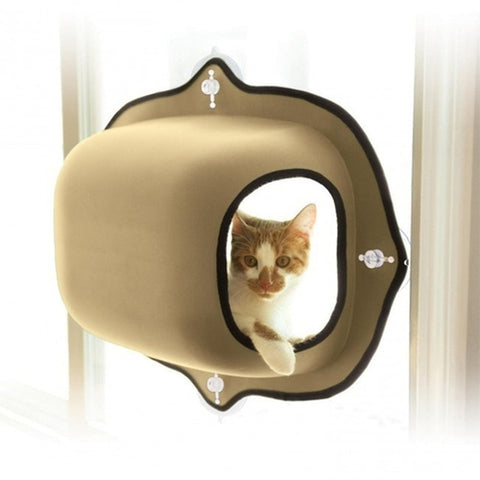 Image of Cat Window Bed Hanging Mats Lounger Warm
