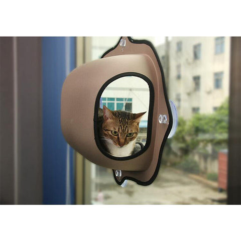 Image of Cat Window Bed Hanging Mats Lounger Warm -  Sport Pet Shop