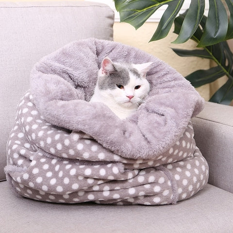 Image of Dog /Cat Sleeping Bags Lovely Cozy Beds